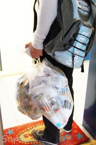 den Müllmann äh Caballero verabschiedet