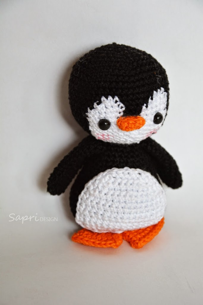 amigurumi-pinguin