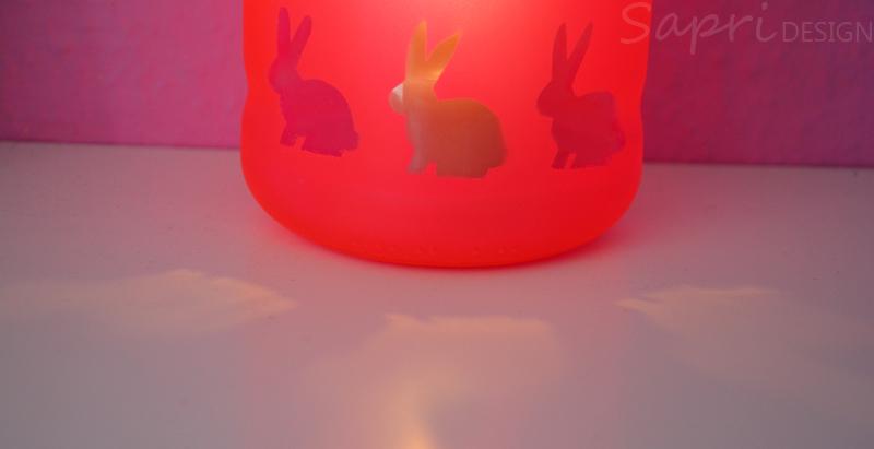 Sapri Design Diy Windlicht Ostern Osterhasen Kerzen Glas
