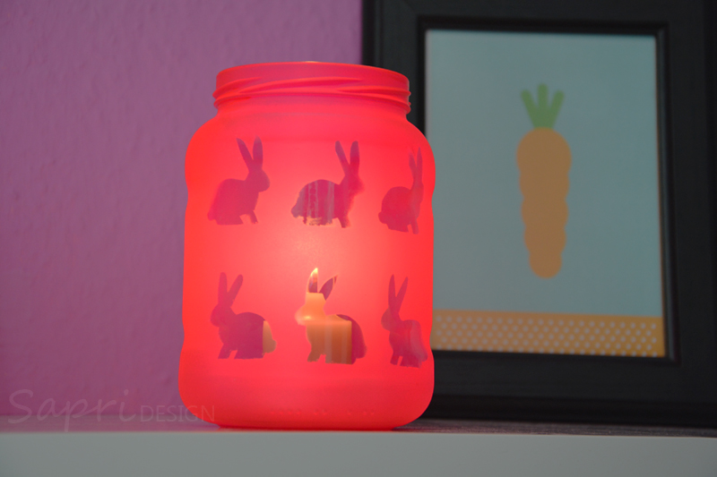 Beautiful Sapri Design Diy Windlicht Ostern Osterhasen Kerzen Glas  Nice Ideas