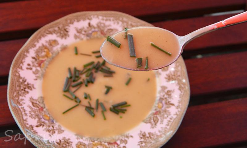 sapri-design-wochenend-rezept-vichyssoise-kartoffel-lauch-suppe-kalt-sommer-erfrischend-französich