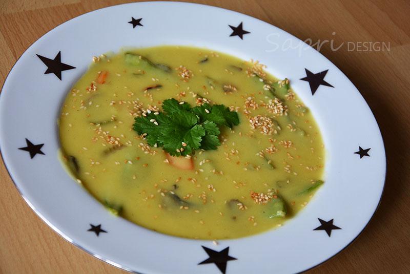 wochenend-rezept-sapri-design-katroffel-kokos-suppe-gemüse-champignons-soulfood-zuckerschoten-sellerie