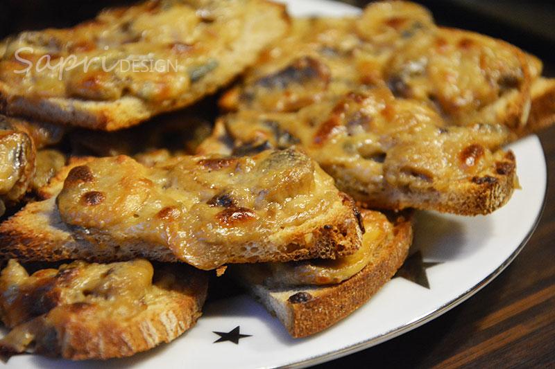 sapri-design-wochenend-rezept-bruschetta-champignon-pilze-käse-gorgonzola-kochen-snack-2