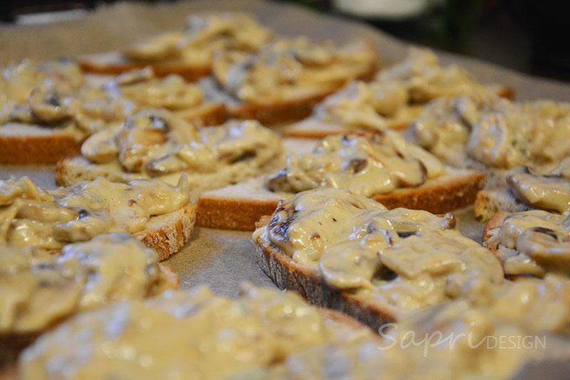 sapri-design-wochenend-rezept-bruschetta-champignon-pilze-käse-gorgonzola-kochen-snack-4