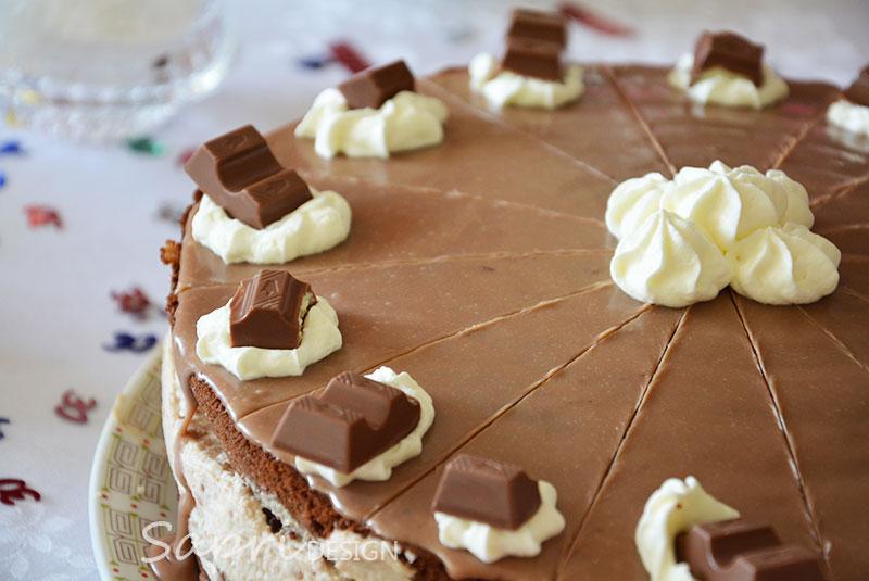 wochenendrezept  kinderschokoladetorte  sapridesign