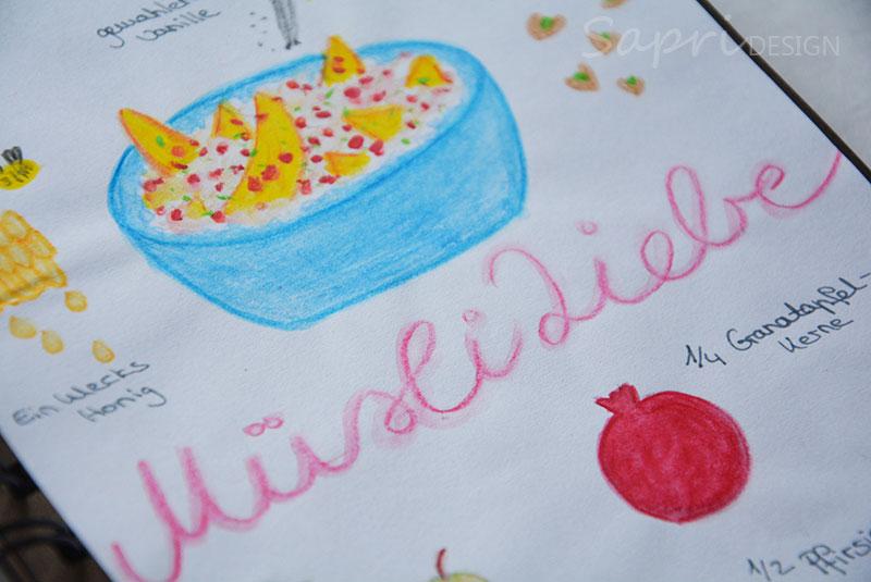 sapri-design-rezept-rezepte-muesli-granatapfel-pfirsich-pistazien-haferflocken-keramik-selbst-bemalen-eigenlob-duesseldorf-handlettering-doodle-recipedoodle-rezeptdoodle-2