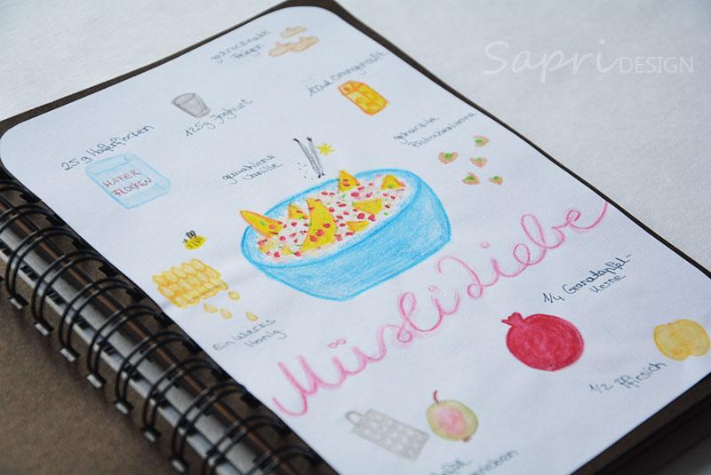 sapri-design-rezept-rezepte-muesli-granatapfel-pfirsich-pistazien-haferflocken-keramik-selbst-bemalen-eigenlob-duesseldorf-handlettering-doodle-recipedoodle-rezeptdoodle-4