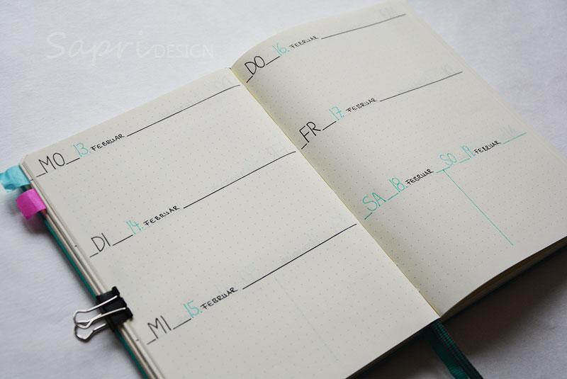 sapri-design-blog-bullet-journal-journaling-bujo-wochenübersicht-einkaufsliste-stabilo-edding-fineliner-kalender-planer-planner-5