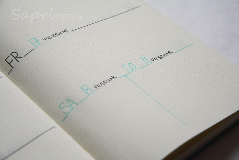 sapri-design-blog-bullet-journal-journaling-bujo-wochenübersicht-einkaufsliste-stabilo-edding-fineliner-kalender-planer-planner-leuchtturm-12