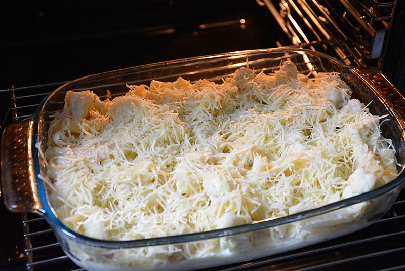 sapri-design-wochenend-rezept-kochen-blumenkohl-mac-and-cheese-gratin-käse-überbacken-6